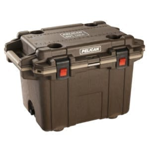 PelicanElite 50 Quart Brown/Tan Cooler Camping Gear