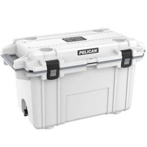 Pelican Elite White/Gray 70 Quart Cooler Camping Essentials