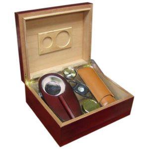 Prestige Import Group Diplomat Humidor Gift Set Cigars
