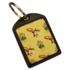 Bird Dog Bay Key Chain: Fowl Play – Yellow Miscellaneous