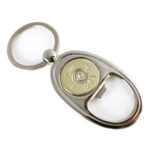 Bullet Designs 12 Gauge Shotgun Bottle Opener Keychain Miscellaneous