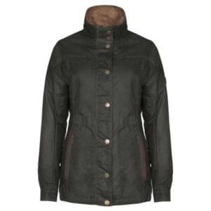 Dubarry Mountrath Women's Waxed Jacket – Olive Clothing
