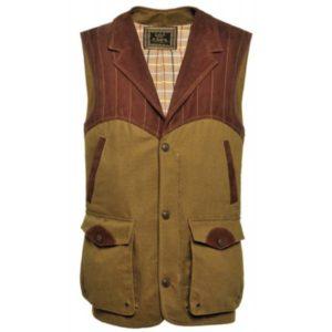 Famars Men's Cotton Shooting Vest, XL Clothing