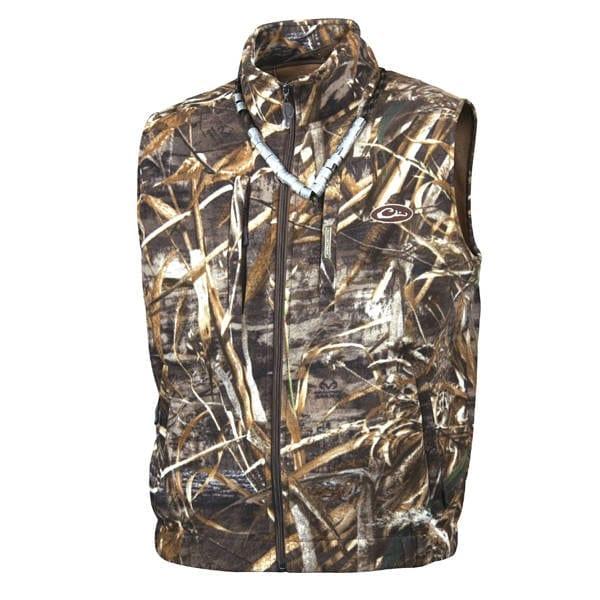 Drake Windproof Layering Vest Max-5 Men's Clothing