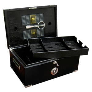 Dakota 120 Count Full Black Cigar Humidor Cigars