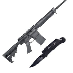 Cutting Edge Combo's – Smith & Wesson M&P10 .308 Win Rifle + Famars SRT Survival Knife AR-15