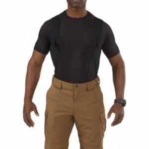 5.11 Tactical Men's Holster Crew Polyester/Spandex Shirt