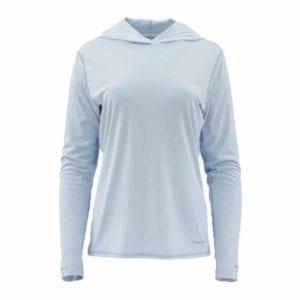 Simms Women's Solarflex Hoody – Fog Blue Clothing