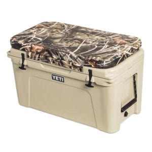 Yeti Tundra Seat Cushion in Camo Max 4, Size 105 Camping Essentials