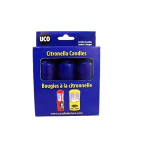 9 Hour Cirtronella Candles – 3 Pack Camping Gear