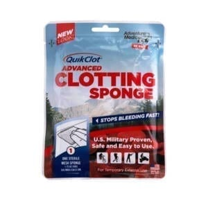 Adventure Medical Kits Quick Clot Sponge First Aid