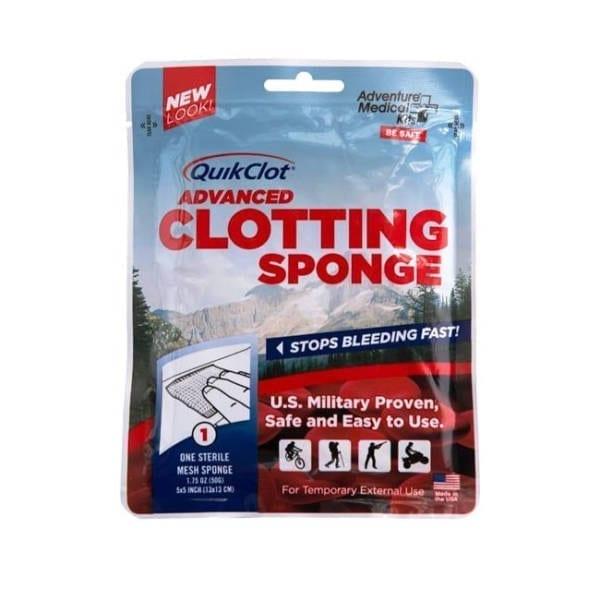 Adventure Medical Kits Quick Clot Sponge First Aid