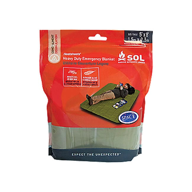 Adventure Medical SOL Heavy Duty Emergency Blanket ⋆ Sporting Shoppe at The  Preserve b60128a5c