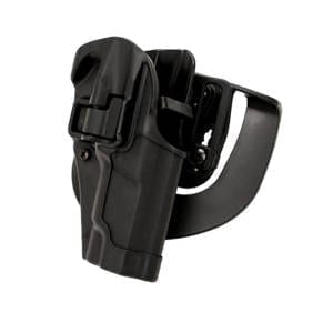 Blackhawk! Serpa CQC BL/PDL Ruger P85/89 RH Firearm Accessories