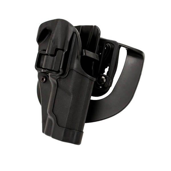 Blackhawk! Serpa CQC BL/PDL Ruger P85/89 RH Firearm Accessories