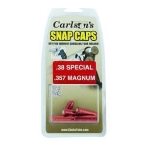 Carlson's Snap Cap .38 Special/.357 Mag Dummies & Snap Caps