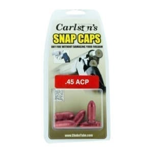 Carlson's Snap Cap .45 ACP Dummies & Snap Caps