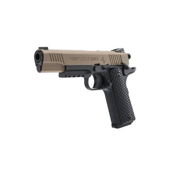 Colt M45 CQBP .177 Caliber Air Pistol BB & Pellet
