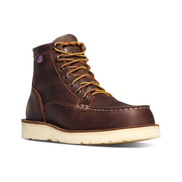 Danner Men's Bull Run Moc Toe 6″ – Brown Boots