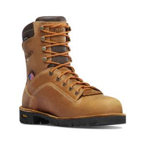 Danner Men's Quarry 8″ – Distressed Brown Boots