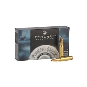 Federal Power-Shok .270 Win 150 Gr Soft Point RN Ammunition