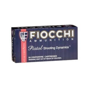 Fiocchi 9AP Shooting Dynamics 9 mm FMJ (Single Box) Ammunition