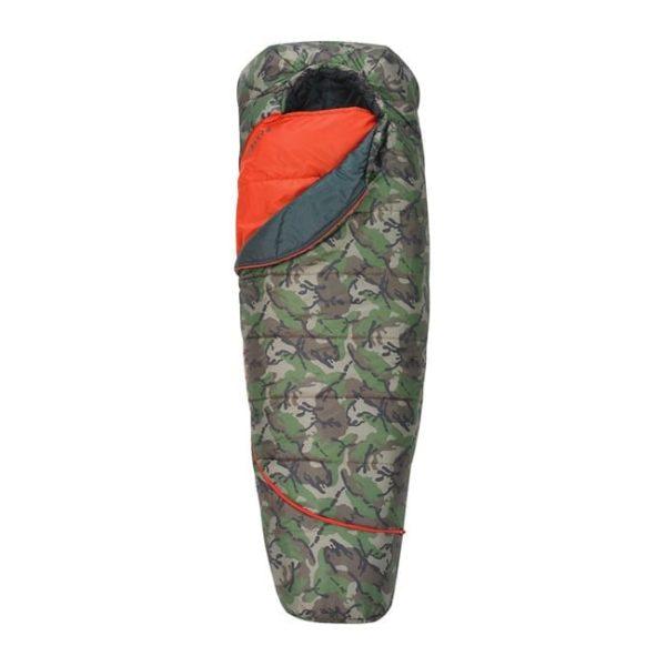 Kelty Tru Comfort 20°Sleeping Bag, Short – Right Hand –Kids Camping Gear