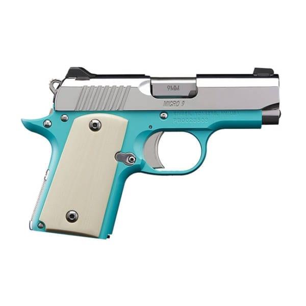 Kimber Micro 9 Bel-Air Special Edition 9mm Handgun Firearms