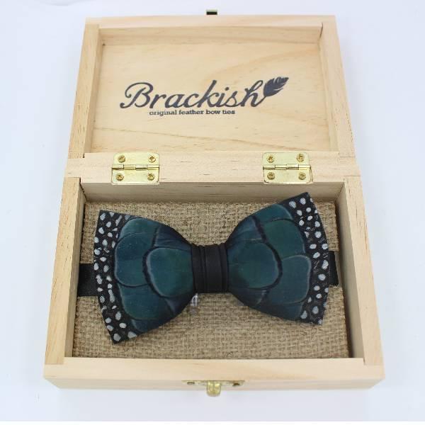 Brackish  Green Pond Bowtie Accessories
