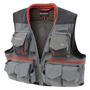 SIMMS Guide Vest, Steel Fishing