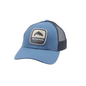 SIMMS Trout Patch Trucker - Blue Stream