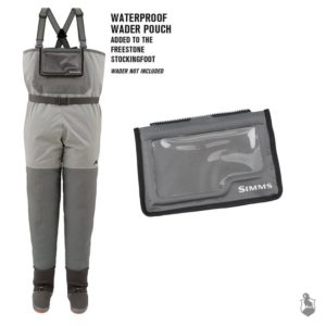 SIMMS Waterproof Wader Pouch, Gunmetal Accessories