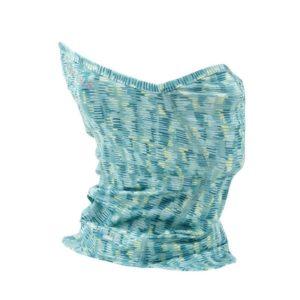 SIMMS Women's Sun Gaiter – Coastal Print Aqua Clothing