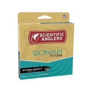 Scientific Anglers Sonar Titan Int/Sink 3/Sink 5 Fly Line Fishing