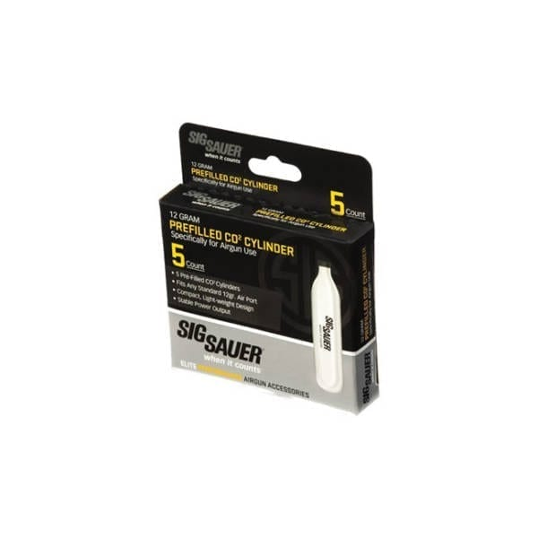 Sig Sauer CO2 12 gram Cylinders Firearm Accessories