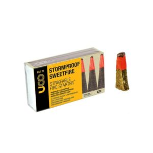 Stormproof Strikeable Firestarter 20 Pack Camping Gear