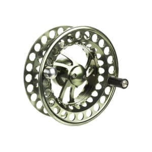 TFO BVK Series Super Large Arbor Fly Fishing Reels, Moss Green I-3/4 wt Spare Spool Fishing