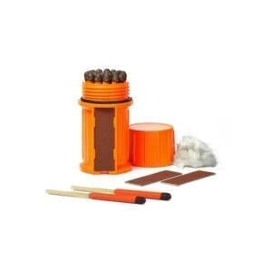 UCO Stormproof Match Kit w/ Waterproof Case Camping Gear