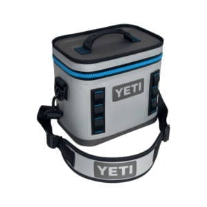 Yeti Hopper Flip 8 Cooler – Fog Gray Camping Essentials