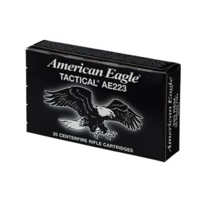 Federal American Eagle .223 Remington 55gr FMJ 20 Rd Box Ammunition