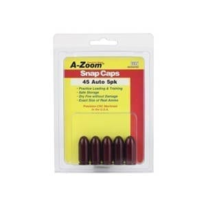 A-Zoom .45 ACP Snap Caps 5 pack