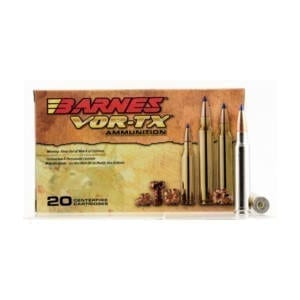 Barnes Bullets VOR-TX .338 Winchester Magnum 210 Grain Tipped TSX Rounds