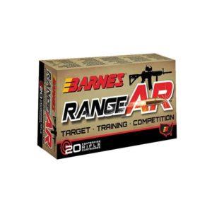 Barnes Range AR 5.56 NATO, Box 5.56 NATO