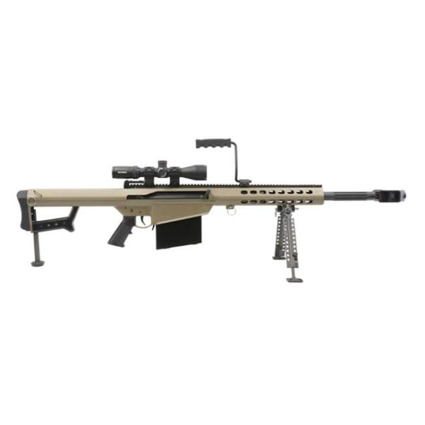 Barrett 82A1 .50 BMG FDE w/ Nightforce Scope