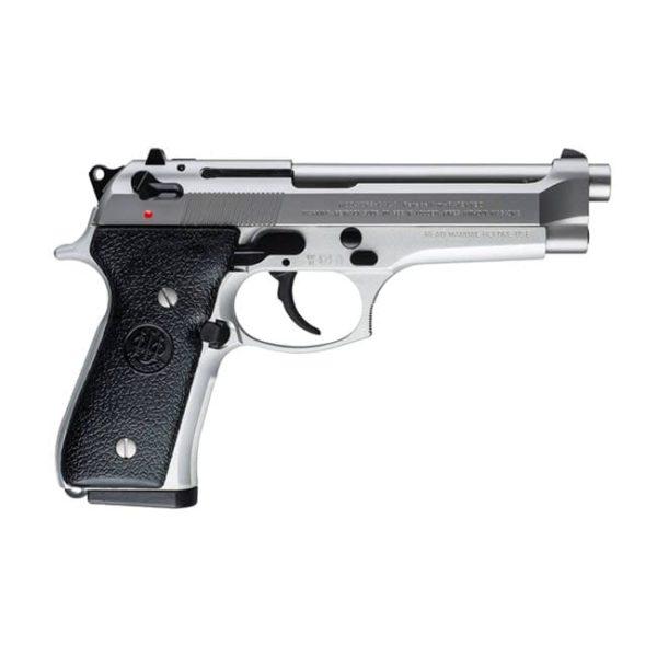 Beretta 92FS Inox Stainless 9mm 4.9″ Handgun Firearms