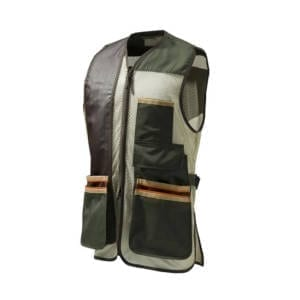 Beretta US Olive Green Two Tone Vest Clothing