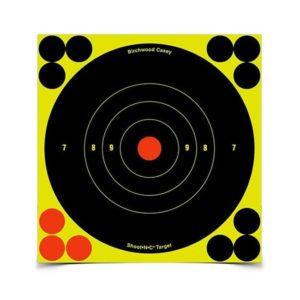 Birchwood Casey Shoot-N-C 8″ Bullseye Targets 25 Pack Firearm Accessories