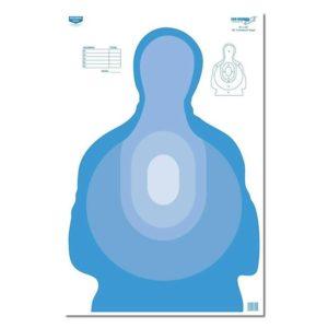 "Birchwood Casey Eze-Scorer 23"" x 35"" Transitional Blue Paper Target"