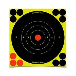 Birchwood Casey Shoot-N-C Bulleye 5 1/2″ Targets 50 Pack Firearm Accessories
