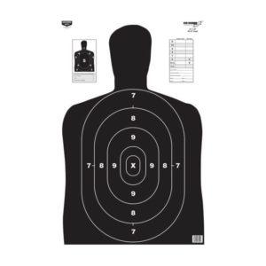 "Birchwood Casey Eze-Scorer 23"" x 35"" BC-27 Black Paper Target"